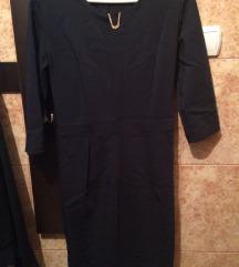 Teget crna haljina