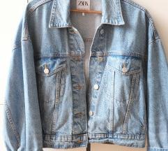 Zara oversized teksas jakna Rezz do kraja meseca
