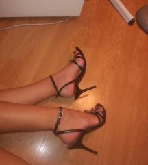 Kozne italijanske sandale.38 br