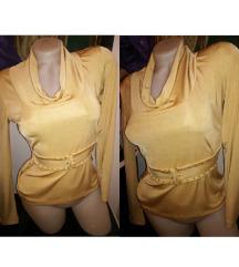 Zlatna svetlucava majica ⭐ XS/S/M SNIZENO SA 1200