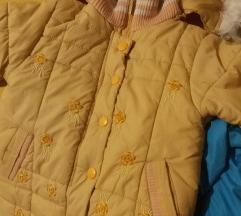 Žuta jaknica Chicco, vel. 2-3, kao nova