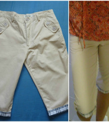 Kao nove, 3/4 casual, pantalone/bermude S