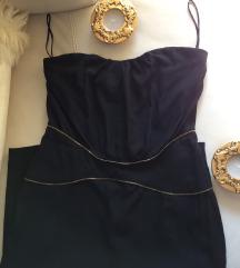 LIA KES (New York)  svecana  svilena  haljina S