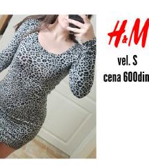 H&M leopard haljina