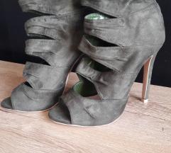 Maslinasto zelene cipele NOVO **SNIZENJE**