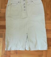 Esprit suknja teksas 40