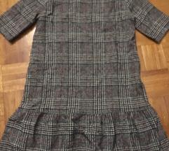 Karirana haljina