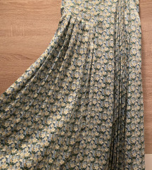 Zara cvetna leprsava suknja (etiketa)