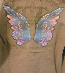 EXTERA Siva /maslinasto zelena majica