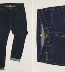 rezzTEZENIS CALZEDONIA skinny farmerke tamni jeans