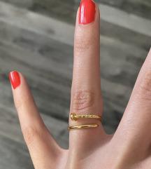 Cartier ekser prsten zlatan