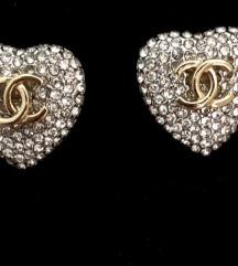 Chanel mindjuse srebrne