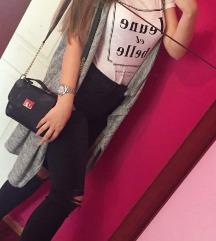 Majica+kardigan