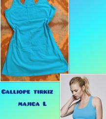 Calliope tirkizna majica L