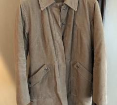 Postavljeni somotski kaput XL