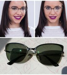 Vogue naočare sa dioptrijom -2 / fotogreen sunčane