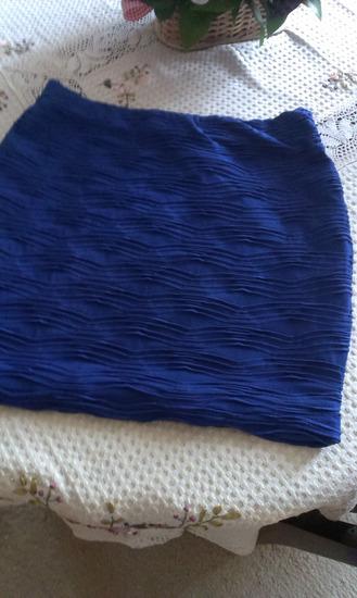 AMISU kraljevsko plava suknja Novo