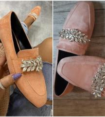 Baletanke cipele sa kristalima Novo