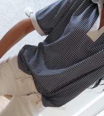 Majica teget bela,siri model