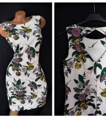 H&M ♛ floral orient haljina ukrašena perlicama ♛