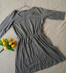 Terranova kratka siva haljina *SNIŽENO*