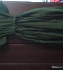 maslinasto zelena pin ap haljina