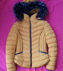 Zimska jakna, oker žuta, vel. S