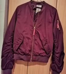 H&M bomber ljubicasta jakna