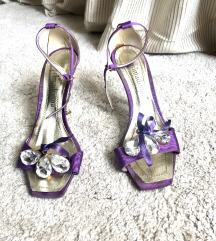 Ljubicaste sandale