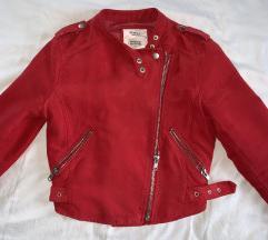 Bershka letnja jaknica-crvena