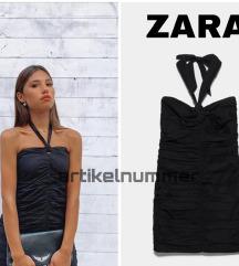 Zara crna mini haljina