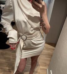 ❤️SNIŽENO❤️ Dizajnirana haljina svila