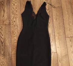 Zara crna sexy haljina