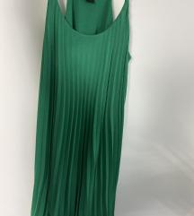 H&M plisirana haljina
