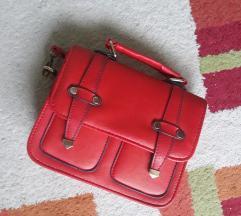 Deichman crvena torbica + poklon