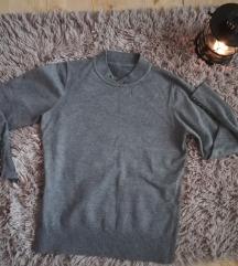 Sivi tanji dzemperak/ pulover
