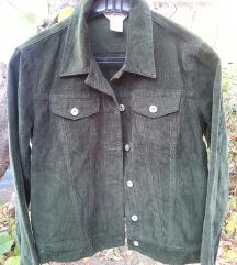 Nova tamno zelena jakna Reflections