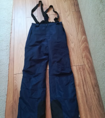 CRIVIT pro ski pantalone na tregere 146/152