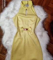 Zuta svecana haljina Xs/S