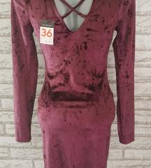 NOVA Plisana haljina sa etiketom S/M