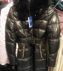 NOVA prelepa jakna sa krznom+POKLON