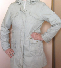 Ženski mantil 2u1 topla postava se skida proleće