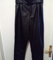 H&M kozne pantalone, skoro NOVE