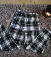 SNIZENJE 499 FB sister karirane pantalone