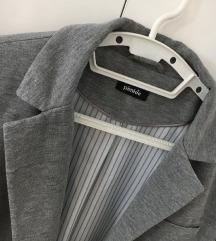 Ženski sivi sako