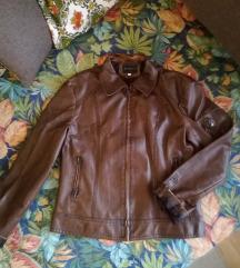 Braon kozna jakna #SNIŽENO# 600din