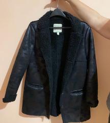 Mango zimska crna jakna