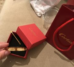 Cartier zlatna narukvica