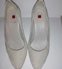 Belo-sive cipele