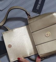 Nova Steve madden torbica zlatna